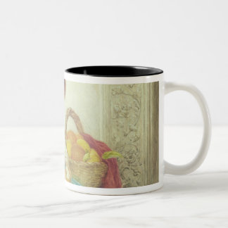 Left in charge Two-Tone coffee mug