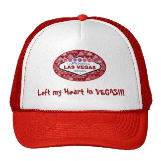 Left my Heart in VEGAS!!! Trucker's Cap Hat