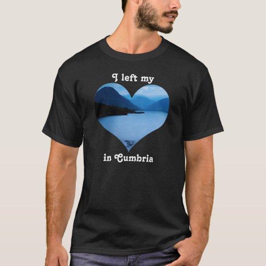 Left My Heart Lake District Cumbria England T-Shirt