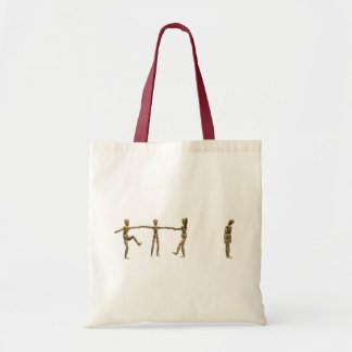 Left Out Budget Tote Bag
