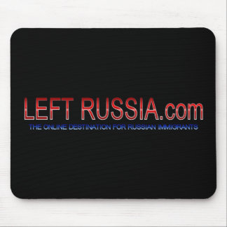 LEFT RUSSIA MOUSE PAD