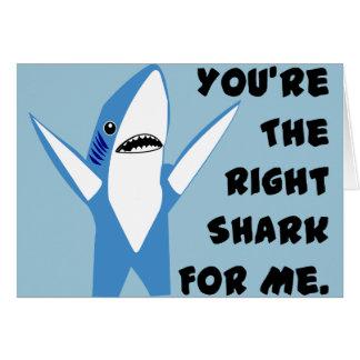 Left Shark Dancing Valentine Card