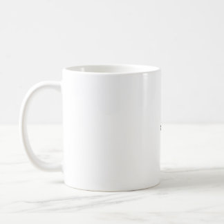 left view coffee mug