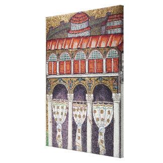 Left wing of the Palazzo di Teodorico, 527-99 Canvas Print