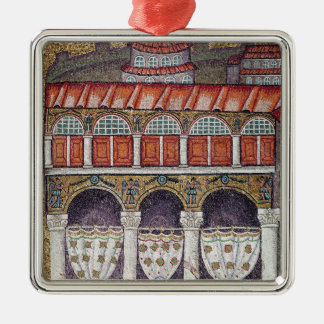 Left wing of the Palazzo di Teodorico, 527-99 Christmas Ornament