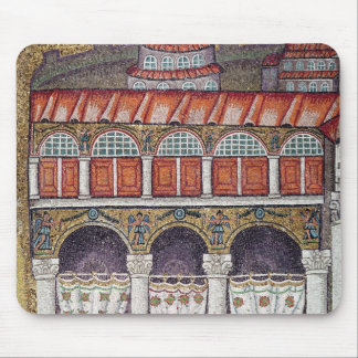 Left wing of the Palazzo di Teodorico, 527-99 Mouse Mat