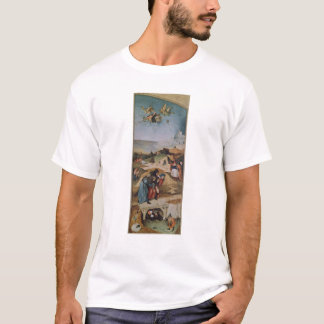 Left wing of the Triptych of the Temptation of T-Shirt