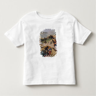 Left wing of the Triptych of the Temptation of Toddler T-Shirt