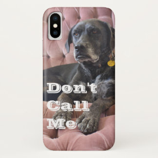 """Lefty """"Don't Call Me"""" iPhone Case - X"""