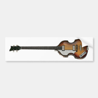 LEFTY VIOLIN BASS bumper sticker