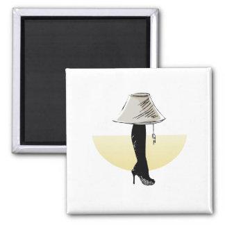 Leg lamp refrigerator magnets