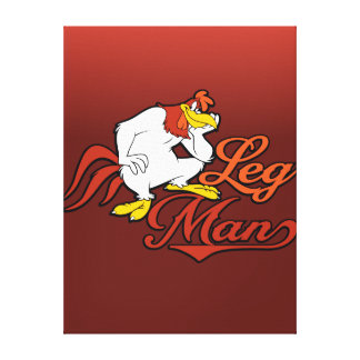 Leg Man Canvas Print