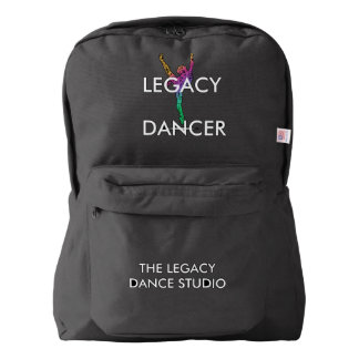 Legacy Dancer Backpack Dance Bag- BLACK