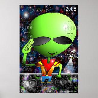 Legal Alien 2006 Calendar Poster