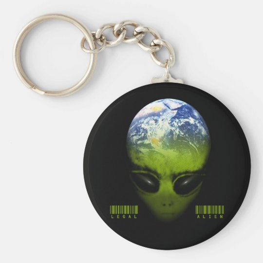 LEGAL ALIEN KEY RING