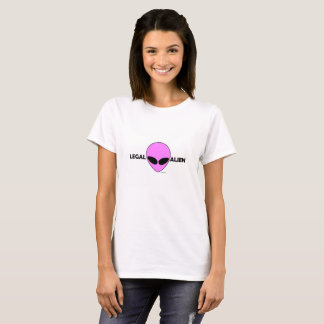 LEGAL ALIEN (PINK ALIEN) T-Shirt