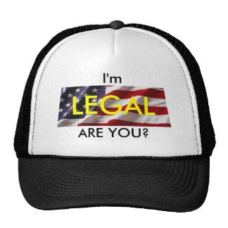 Legal Cap Trucker Hat
