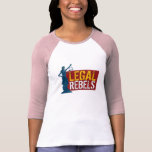 Legal Rebels Lady Justice Jersey T Tees