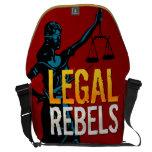 Legal Rebels Messenger Bag (Large)