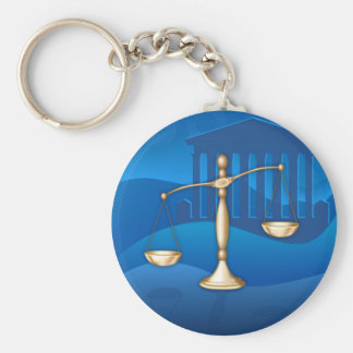 Legal Scales Keychains