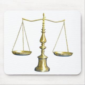 Legal Scales Mousepad