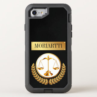 Legal Scales of Justice OtterBox Defender iPhone 7 Case