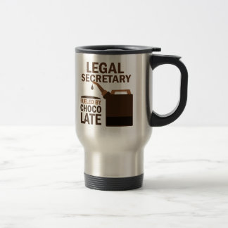 Legal Secretary (Funny) Chocolate Travel Mug