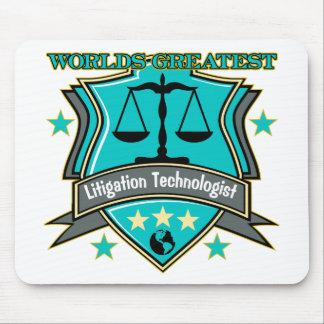 Legal World s Greatest Litigation Technologist Mousepad