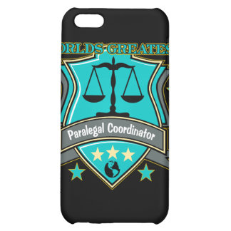 Legal World's Greatest Paralegal Coordinator iPhone 5C Cases