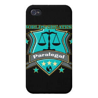 Legal World's Greatest Paralegal iPhone 4/4S Cases