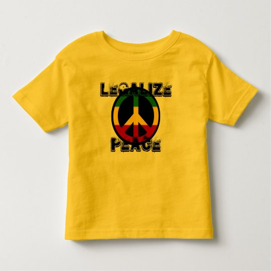 Legalise Peace Toddler T-Shirt