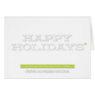 """Legality"" Lawyer's Christmas Card"