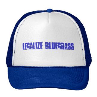 legalize bluegrass trucker hat