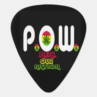 legalize it P.O.W. guitar pick