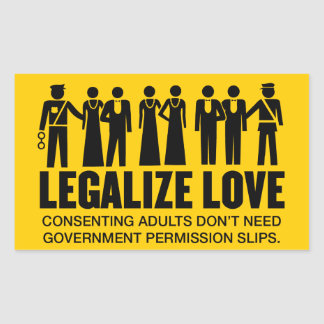Legalize Love Stickers