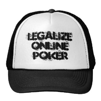 Legalize Online Poker Hat