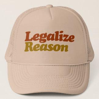 Legalize Reason Trucker Hat