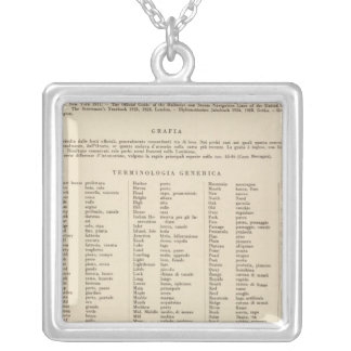 Legend 14546 Ark, Tenn, La, Miss, Fla, Ala, Ga, SC Silver Plated Necklace