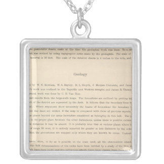 Legend Atlas Silver Plated Necklace