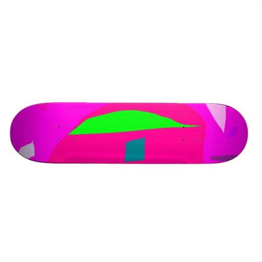 Legend Free Eyelid Mandarin Clear Sky Skate Board Deck