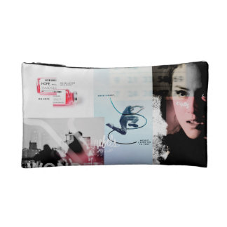 Legend graphic makeup bag