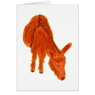 Legend of the Donkey Greeting Card