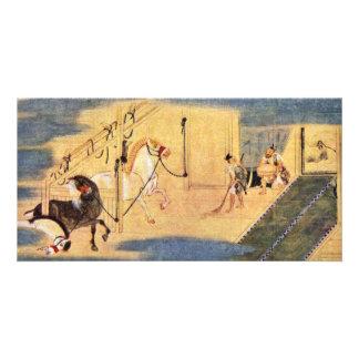 Legend Of The Founding Of The Seiko-Ji Temple Deta Customized Photo Card