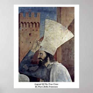 Legend Of The True Cross By Piero Della Francesca Poster