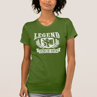 Legend Since 1974 Tshirts