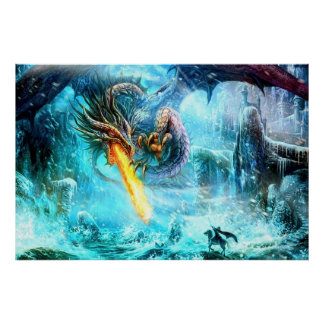Legendary Dragon Poster
