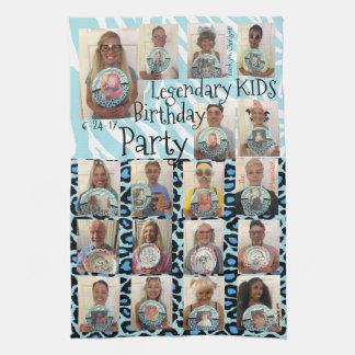 Legendary Kids Birthday Party Tea Towel