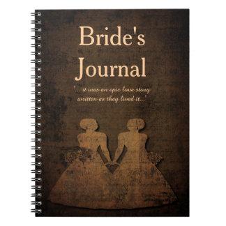 Legendary Love: A Lesbian Bride's Journal Note Book