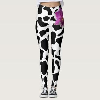 Legging Giraffe/Orchis