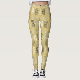Legging Pattern Pineapple